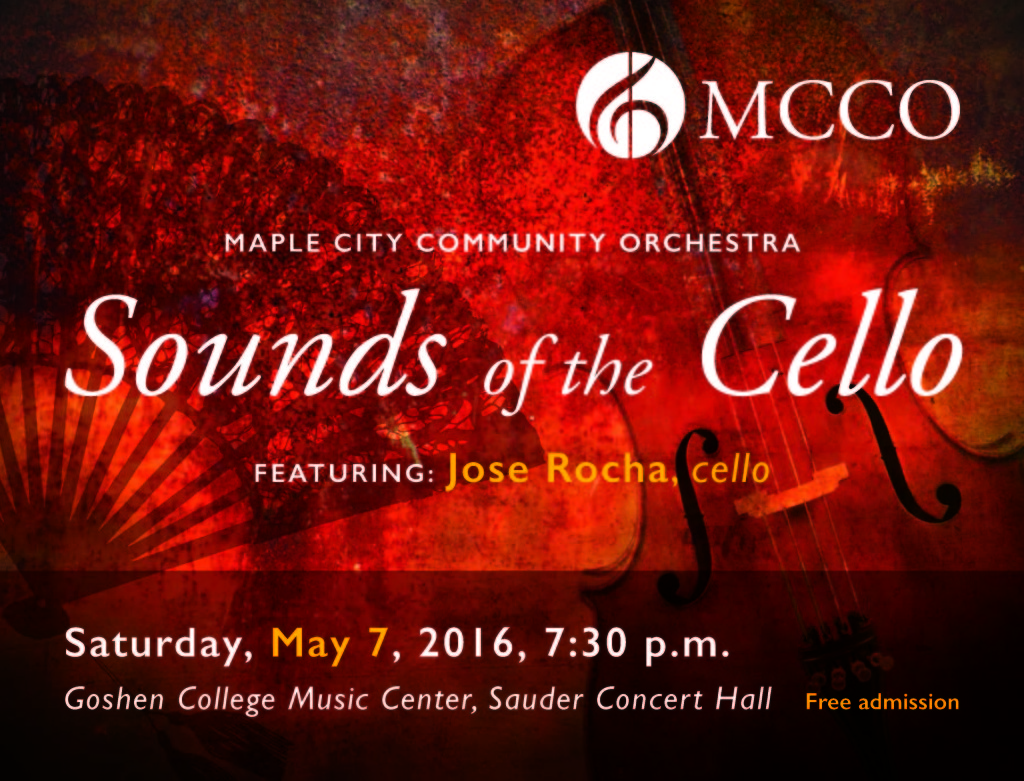 MCCO May 2016 concert poster