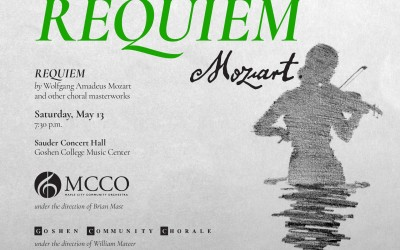 Mozart Requiem with Goshen Community Chorale